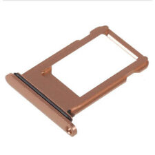 Sim Card Tray Holder with Waterproof Gasket Ring for iPhone 8 Plus (Rose Gold)