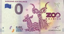 BILLET 0 EURO SOUVENIR NARODNA ZOO BOJNICE  SLOVAQUIE 2019-2