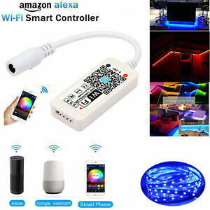 Magic Home WiFi RGB LED Streifen Controller DC 5V 12V 24V IOS Android Echo Alexa