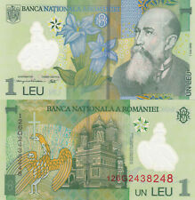 Romania 1 Leu (2012) - Polymer/Monestary/p117g UNC