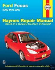 NEW HAYNES REPAIR WORKSHOP MANUAL: FORD FOCUS 2000-2007