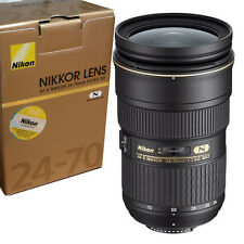 New Nikon AF-S NIKKOR 24-70mm f/2.8G ED Zoom Lens Express Shipping