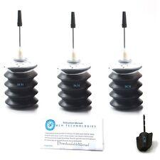 3x30ml Black Refill Ink for Canon PG-240 240XL MX452 MX512 MX522 MX374 MX722 KKK