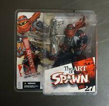 Spawn Issue 131 Series 27 MCFARLANE TOYS The Art of Spawn MOC GV
