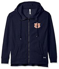 Under Armour UA Women's Auburn Football Full Zip Fleece Hood Jacket Large L