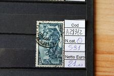 FRANCOBOLLI ITALIA REPUBBLICA USATI N. 591 (A28312)