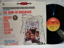 The Guns of Navarone OST  DIMITRI TIOMKIN  1979 CBS French Import  NM!