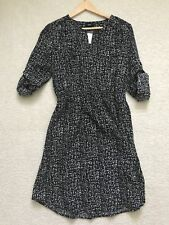 Mossimo Black & White Dress Shirt Long Sleeve size L NWT