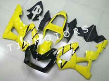 For CBR929RR 2000 2001 ABS Injection Mold Bodywork Fairing Kit Cowl Yellow Black