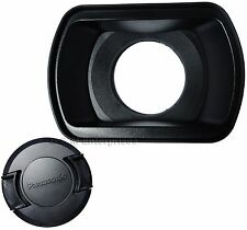 Panasonic VYQ6941 Hood and VYK0Z96 Lens Cap for AG-AC130 AG-AC160 Pro Camcorder