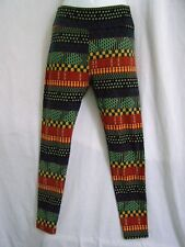 LuLaRoe Leggings Multi Colored Geometric Shapes Women's  one size