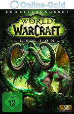 WoW Legion Key - World of Warcraft Add-On Battlenet Code PC / MAC NEU [EU/DE]