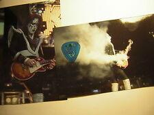 KISS ACE FREHLEY GUITAR PICK CITY 7/26 BOISE W/UNPUB.PHOTOS 2000 FAREWELL