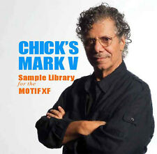 CHICK'S MARK V RHODES SAMPLE LIBRARY FOR YAMAHA MOTIF XF! L@@K!!!