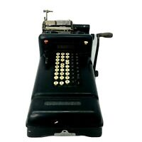 Vintage Burroughs Class 3 Visible Adding Machine for Parts or Repair or Display
