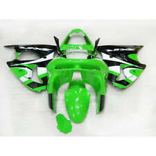STO New Painted ABS Bodywork Fairing Full Set For Ninja ZX 6R 1998 1999 (B)