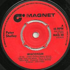 PETER SHELLEY - WISCONSIN / I'M FLYING 1975 - ORIGINAL 70s POP SOFT ROCK BALLAD