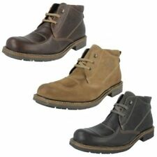 Base London Leather Casual Boots for Men