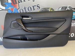 BMW LEATHER DOOR PANEL RIGHT F22 228i 230i 235i iX M2 14-18 51417285386