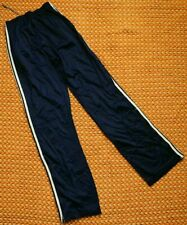 Adidas Ventex, Retro Blue Nylon, Polyamide Pants, Size - Medium - Large
