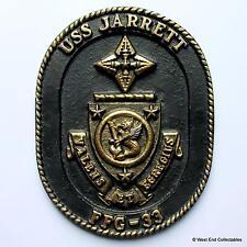 USS JARRETT-vecchi Stati Uniti Navy Nave metallo tampion PLACCA BADGE CREST