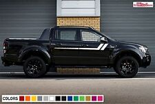 Decal Sticker Side Hockey Stripes for Ford Ranger T6 Off-road Lift Body Kit PX