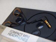 Tdk Compact Mini Headphones Cassette Case 1989 China 85 dB 32 ohm Portable Audio