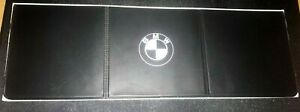 3 permit holder in BLACK plastic - WHITE print suitable for BMW