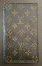 LOUIS VUITTON MONOGRAM PASSPORT CHECKBOOK LONG WALLET- EXCELLENT PRE-OWNED