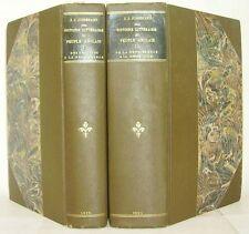 JUSSERAND Histoire littéraire du peuple anglais Stroobants 1896 LA19-20