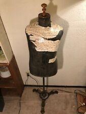 Antique Brass Base/Stand Dress Form Mannequin, Harris & Sheldon Limited, Uk