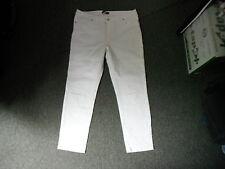 "So Fabulous Classic Fit Jeans Size 16 Leg 27"" White Ladies Jeans"