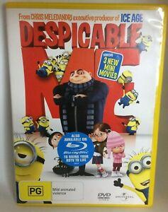 Despicable Me DVD Regions  2,4,5