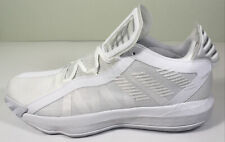 Adidas Dame 6 Ruthless Basketball Shoes FV7048 Mens Size 12.5 Triple White New