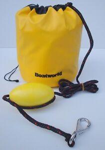 Sand Anchor Kit for Jet ski PWC Dinghy Kayak Boat c/w Buoy snaphook 8ft rope
