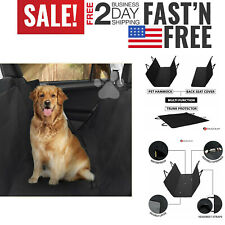 SUV Heavy-Duty Car Seat Covers for Dogs Waterproof Back Seat Cover for Pets Nonslip Scratchproof Dog Car Seat Cover Truck PAWBEE Dog Car Seat Covers Car Pet Hammock with Front Mesh Window