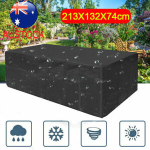 Waterproof Outdoor Furniture Cover Yard UV Garden Table Chair Sofa Protector AU