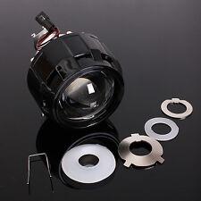 "2.5"" LHD Mini Bi-xenon HID Projector Kit Lens Car Motor Headlight Shroud H1 Gift"