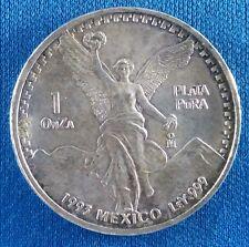 1993 Mexico Onza Libertad 1 Ounce .999 Silver Coin