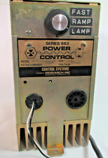 Research Inc., Power Control Systems Supply, Series 663, 120VAC, Made in USA