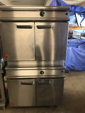 Falcon G3117/2 Dominator Plus 2 tier Gas Oven Natural Gas Double Oven