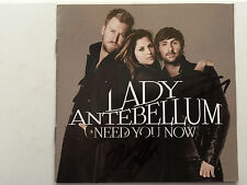 Need You Now cd by Lady Antebellum signed by all 3  autographed Grammy winner
