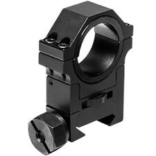 "NcSTAR 30mm Adjustable Height Tactical Weaver Rail Mount Ring w/ 1"" Insert RAH24"