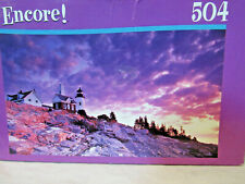 Puzzle-Jigsaw Puzzle Encore! 504 The Lighthouse 2009 by Mega Brand