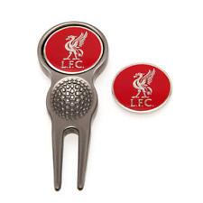 Liverpool Fc Golf Ball Divot Repairer Tool & Ball Marker Set Gift