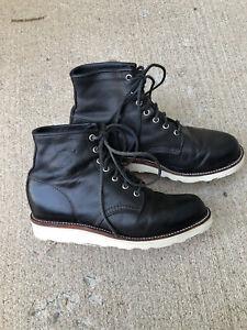 mens chippewa boots size 10
