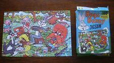 Tower Press Jigsaw Puzzle ' Bugs Bunny ' A Quiet Day's Fishing ' 1960s
