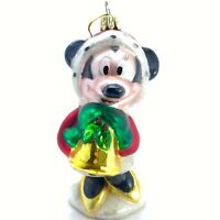 Disney - Minnie Mouse European Style Blown Glass Christmas Ornament Cake Topper