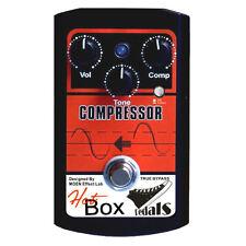 Hot Box Pedals by Moen HB-CP COMPRESSOR Analog Guitar Effect Pedal True Bypass