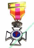 Medalla A LA CONSTANCIA EN EL SERVICIO. Medalla condecoración militar CONST 0922
